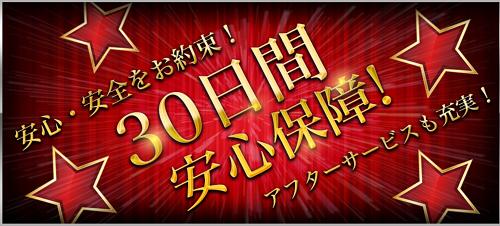 EXTRA(エクストラ)30日間安心保障