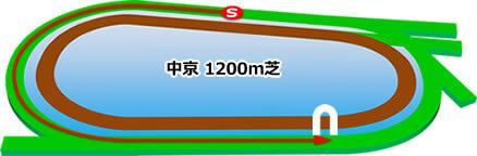 中京競馬1200m