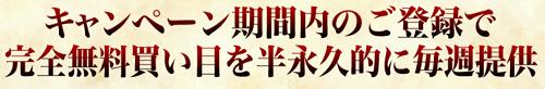 TENKEI(テンケイ)_半永久的に買い目提供